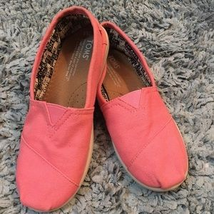 Toms Youth Canvas Classic Slip On Shoes 4P